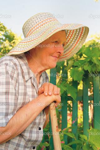 A Satisfied Gardener!
